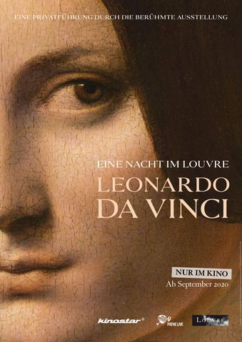 Poster Eine Nacht im Louvre: Leonardo da Vinci