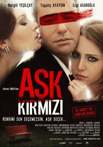Poster Ask Kirmizi