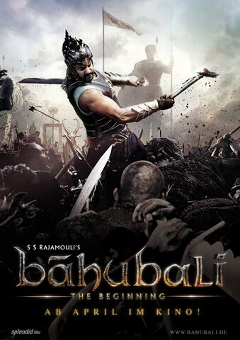 Poster Bahubali: The Beginning