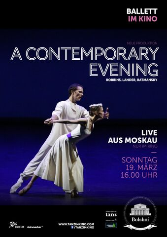 Poster BOLSCHOI: A CONTEMPORARY EVENING
