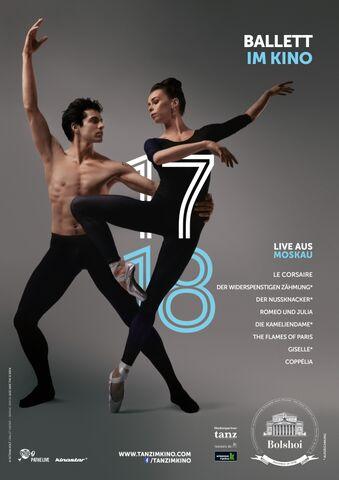 Poster Bolshoi Ballet Season 2017/18