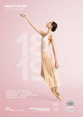 Bolschoi Ballett Saison 2018/19