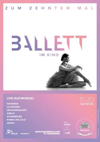 Poster Bolshoi Ballet Season 2018/19