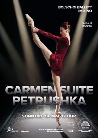 BOLSHOI: CARMEN SUITE / PETRUSCHKA