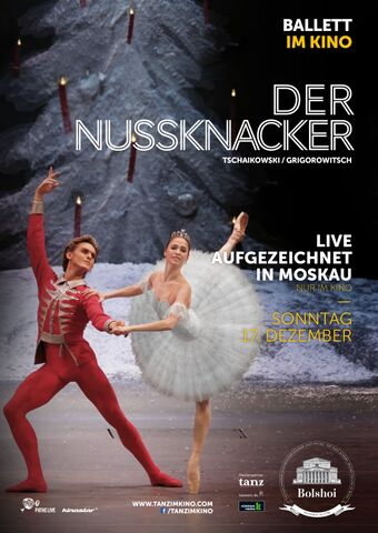 Poster BOLSHOI: THE NUTCRACKER