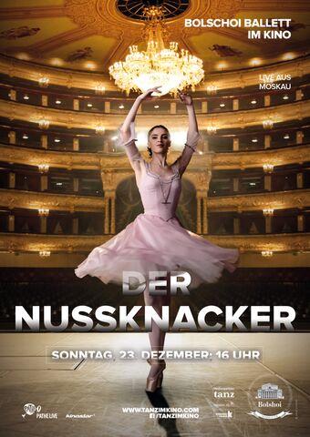 Poster BOLSCHOI: DER NUSSKNACKER