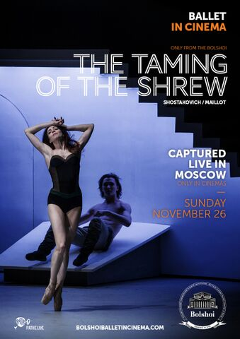 Poster BOLSHOI: THE TAMING OF THE SHREW