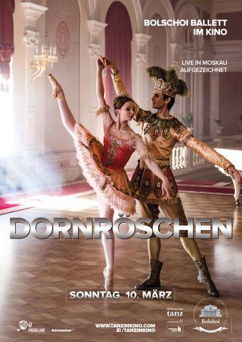 Poster BOLSCHOI: DORNRÖSCHEN