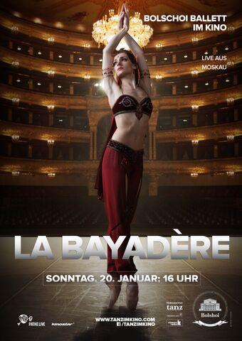 Poster BOLSCHOI: LA BAYADÈRE