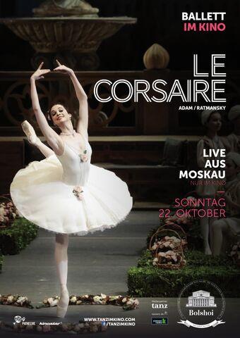 Poster BOLSHOI: LE CORSAIRE