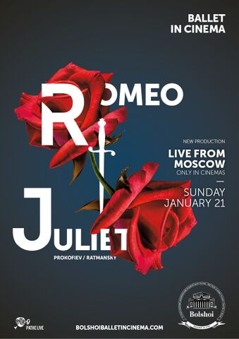 Poster BOLSHOI: ROMEO AND JULIET