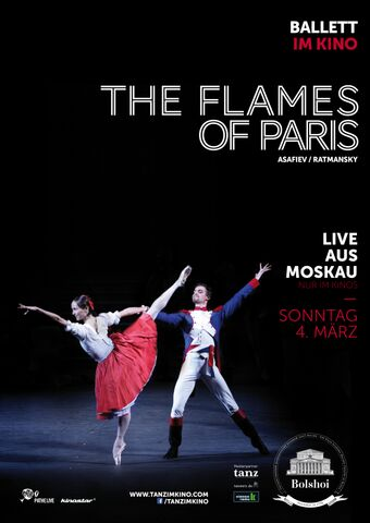 Poster BOLSCHOI: THE FLAMES OF PARIS