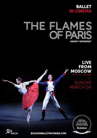 Poster BOLSHOI: THE FLAMES OF PARIS
