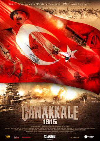 Poster Çanakkale 1915