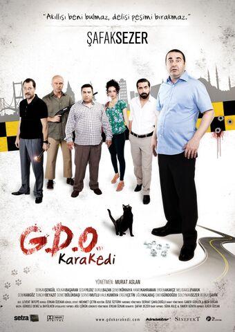 Poster G.D.O. Kara Kedi
