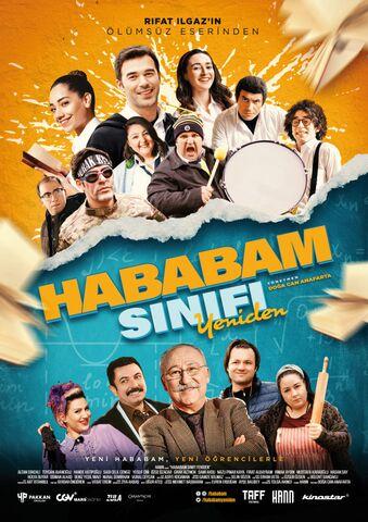 Poster Hababam Sinifi Yeniden
