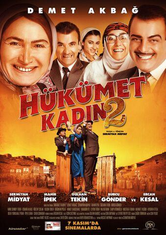 Poster Hükümet Kadin 2