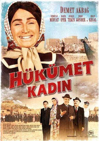 Poster HÜKÜMET KADIN