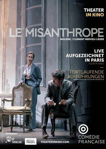 Poster La Comédie-Française: LE MISANTHROPE