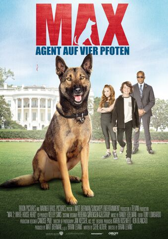 Poster Max – Agent auf vier Pfoten