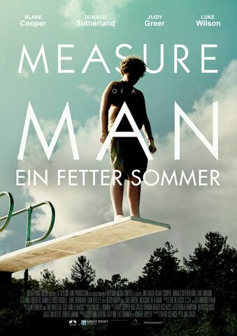 Poster MEASURE OF A MAN