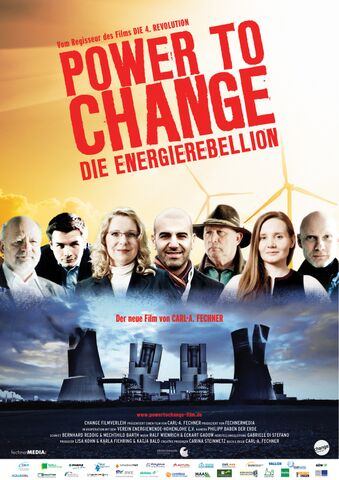 Poster POWER TO CHANGE – Die Energie Rebellion