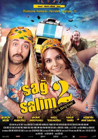 """Poster SAG SALIM 2: """"Aufs Neue"""""""