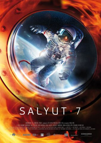 Poster SALYUT 7