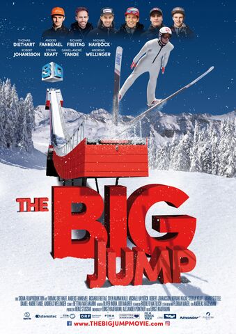 Poster THE BIG JUMP in 3D
