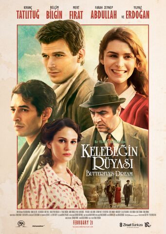 Poster THE BUTTERFLY´S DREAM – Kelebegin Rüyasi