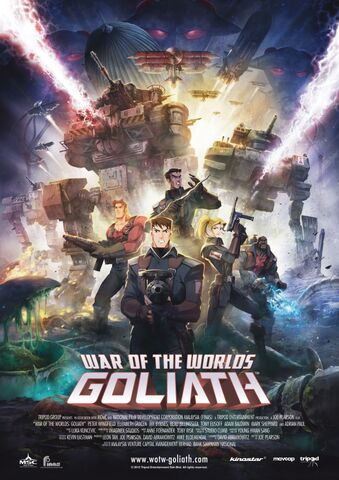 Poster War of the Worlds: Goliath