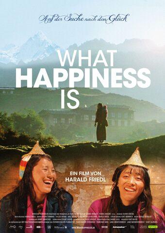 Poster What Happiness Is – Auf der Suche nach dem Glück