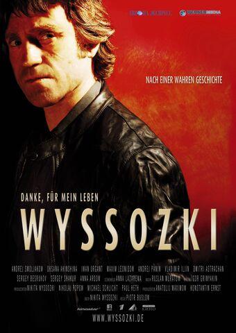 Poster Wyssozki – Danke, für mein Leben