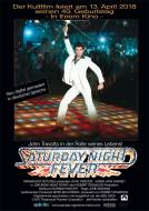 Poster 40 Jahre Saturday Night Fever